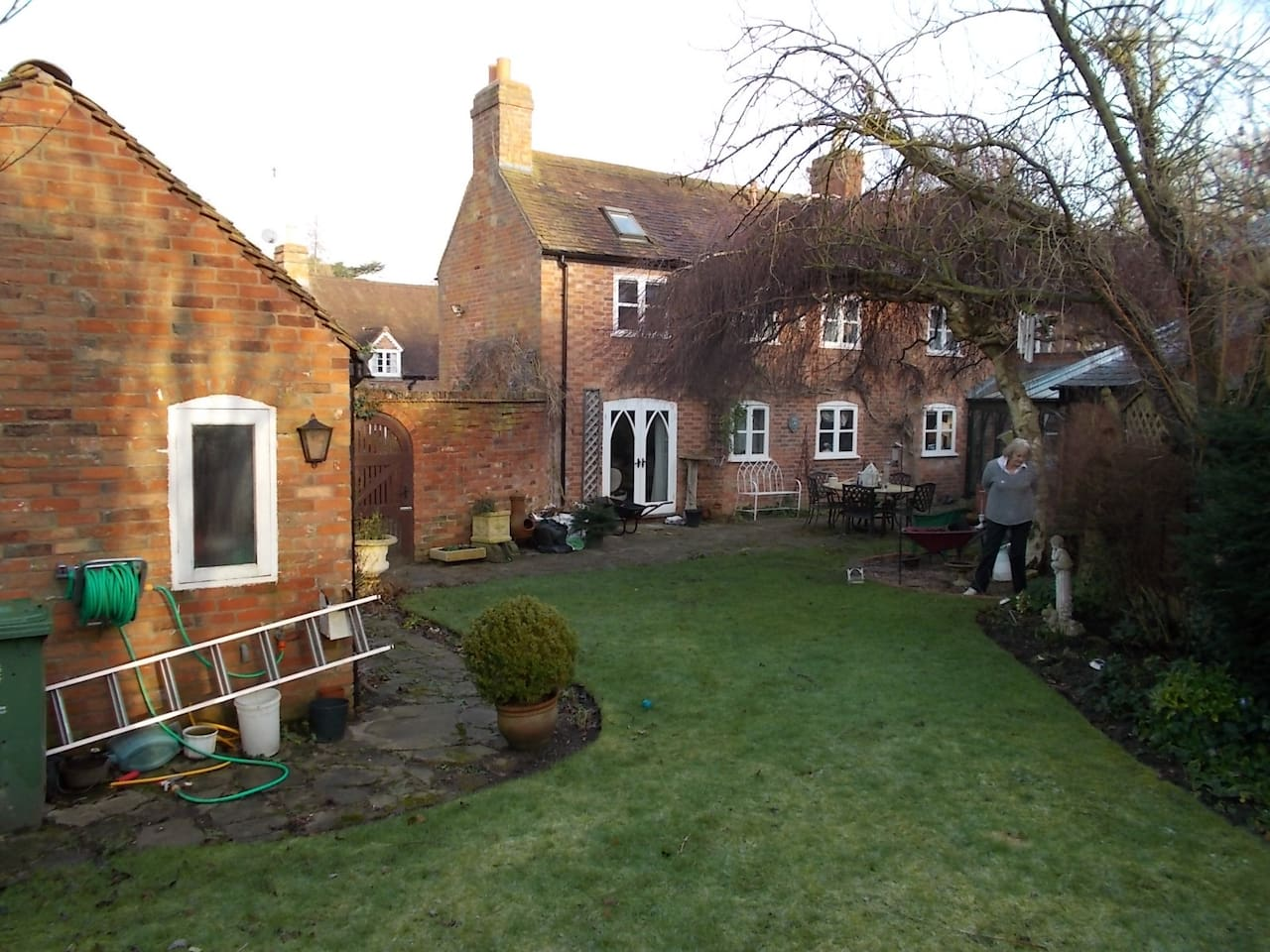 Garden and rear of house