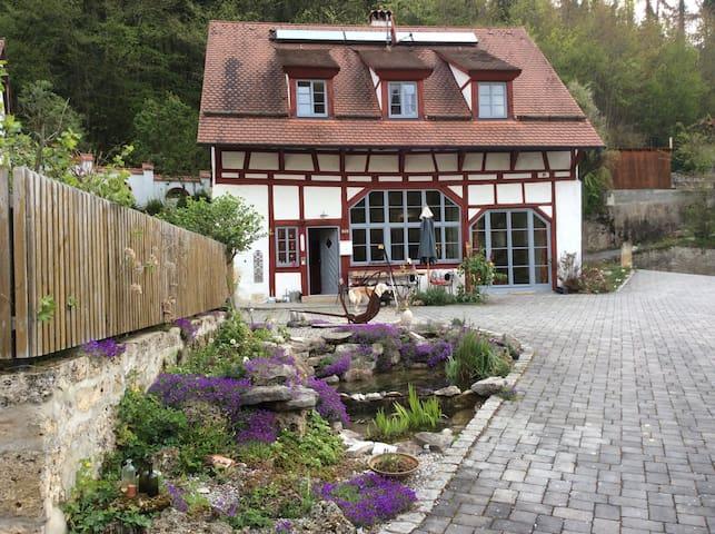 Historisches Mühlenanwesen in traumhafter Lage - Wiesenttal - Bed & Breakfast