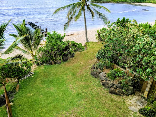 North Shore Hawaii Beachfront Home