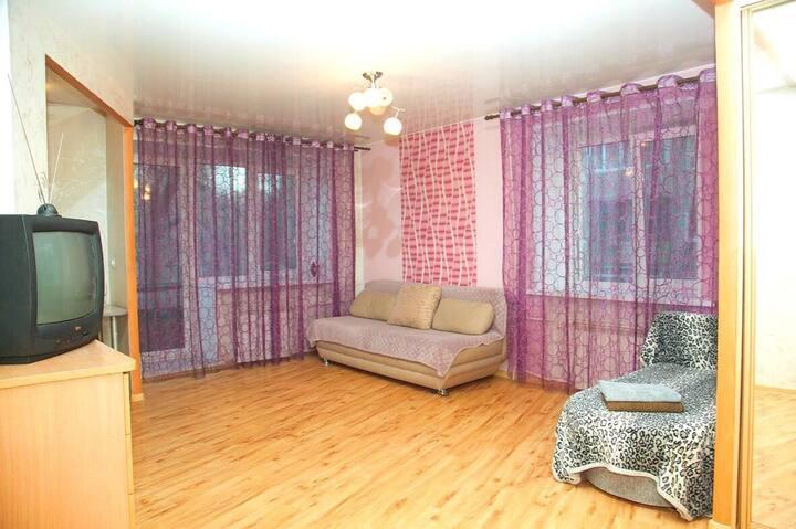 Квартира для одинокого гостя или семейной пары
