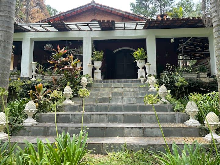 Casa de campo excepcional Paz e natureza
