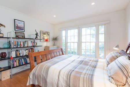 Quiet room in the East Bay hills