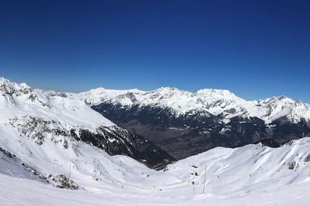 Studio montagne superbe vue - Modane - Pis