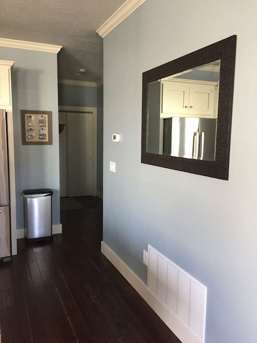 Brand new construction with hard wood floor through out.