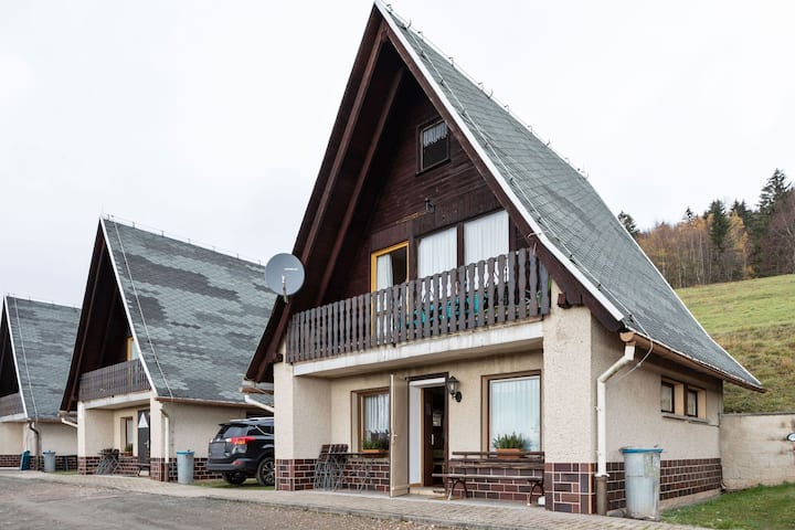Quaint Holiday Home with Private Balcony in Trusetal