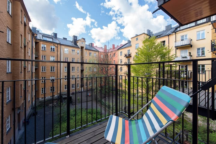 Charming place in central Stockholm
