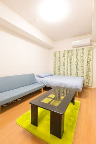64☆4ppl stay☆WiFi free☆7min from st.☆Near Sakae☆
