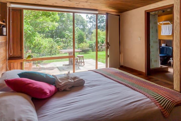 Hippiness Hostel habitacion Fuis - La Calera  - Huis