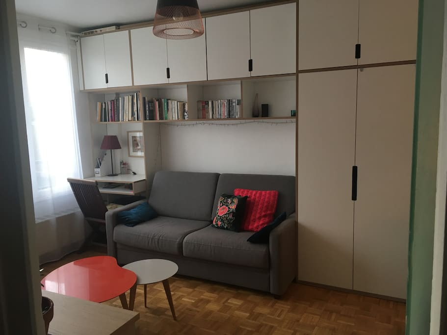 Joli studio de charme apartments for rent in montreuil - Pharmacie de garde porte de montreuil ...