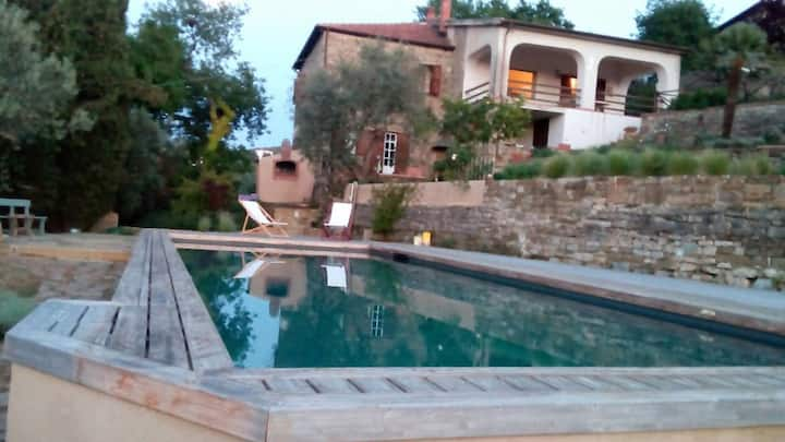 Appartamento in villa con piscina Castellabate
