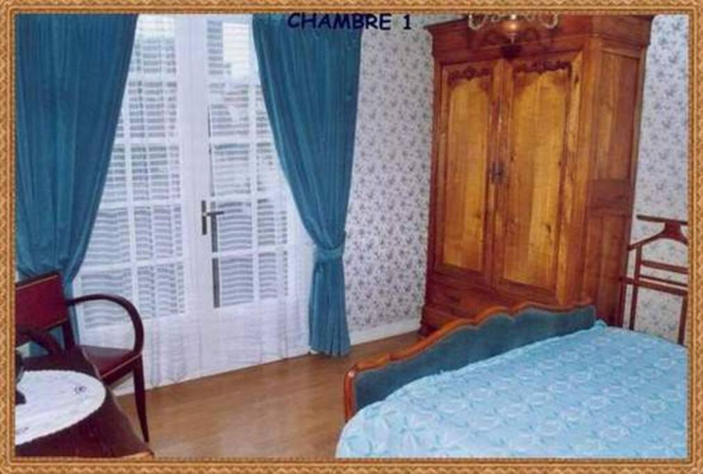 la chambre au rez de chaussée-