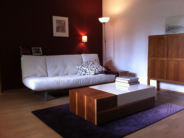 1-2 Pers Appartment Großwallstadt - Großwallstadt - Apartament