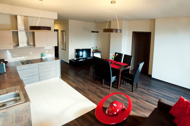 Hel Exclusive Apartment for 6 people - Hel - Daire