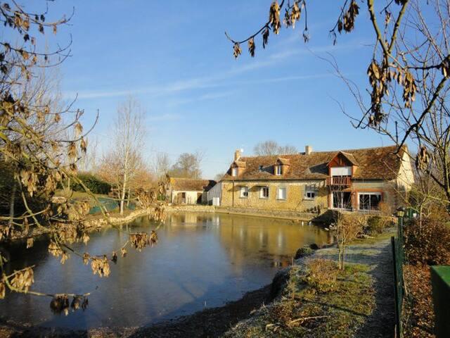 Chambres d'hôte Sarthe ( proche du Mans) - Fercé-sur-Sarthe - บ้าน