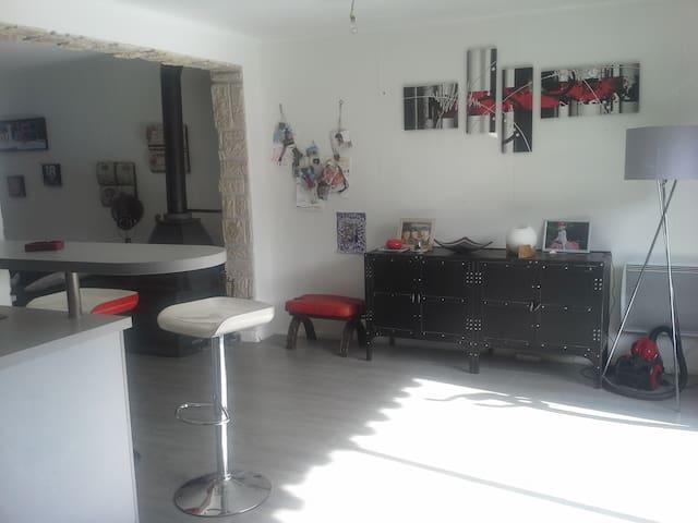 Maison 86 m2.Calme,idéale famille - TAVERNY - Haus