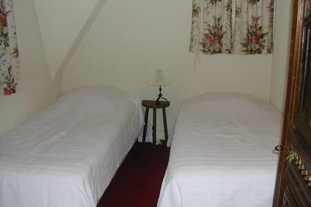 Chambre à deux lits - Cabourg