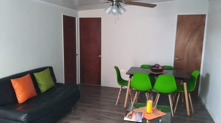 Bonito Apartamento a minutos de Playa Cavancha.