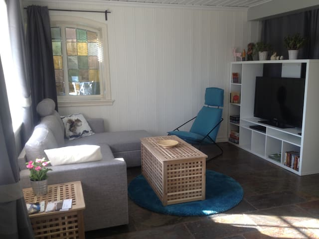 Nice flat with a free street park - Bergen - Apartment