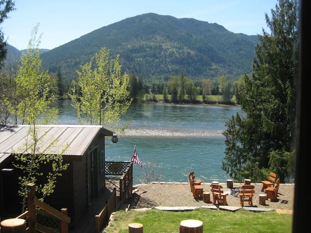 Scenic, Well Appointed  River Ranch - Clark Fork - Dům