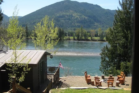 Scenic, Well Appointed  River Ranch - Clark Fork