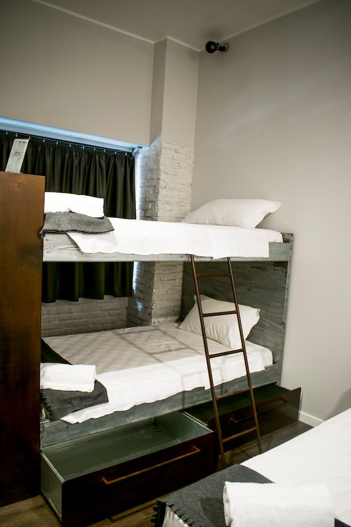 HostelTrastevere postoletto dormitorio femminile4