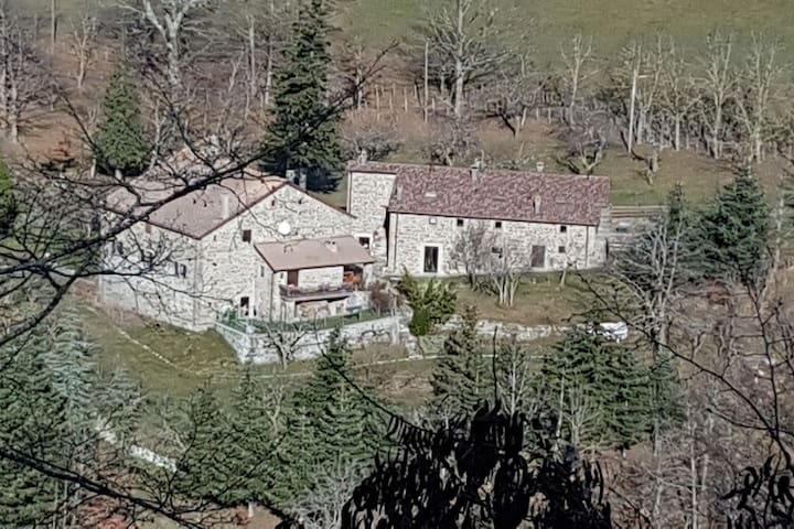 Holiday home with garden, in the middle of nature, near Bagno di Romagna