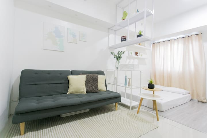 Best Location Cozy Unit At Smdc Light Residences Apartments For Rent In Mandaluyong Metro Manila Philippines