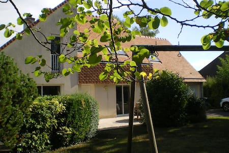Chambres d'hôtes dans maison contemporaine - Bénouville