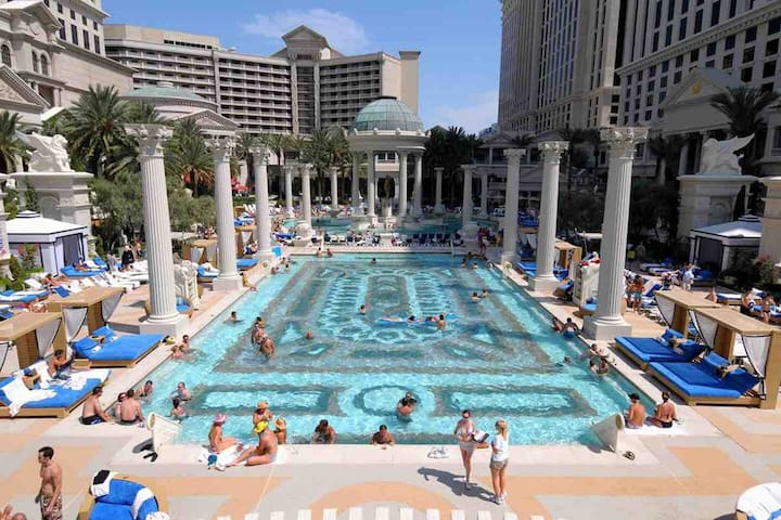 Las Vegas Strip   2 Queen w/ a View
