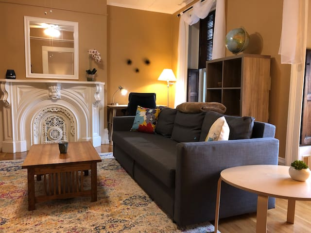 So Cute & Cozy -Quiet in Downtown Troy