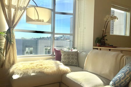 Lightfilled Luxury Condo on the Hill - San Francisco - Wohnung