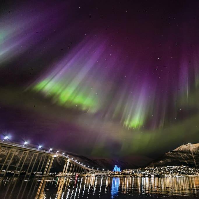 Northern lights inn Tromsø