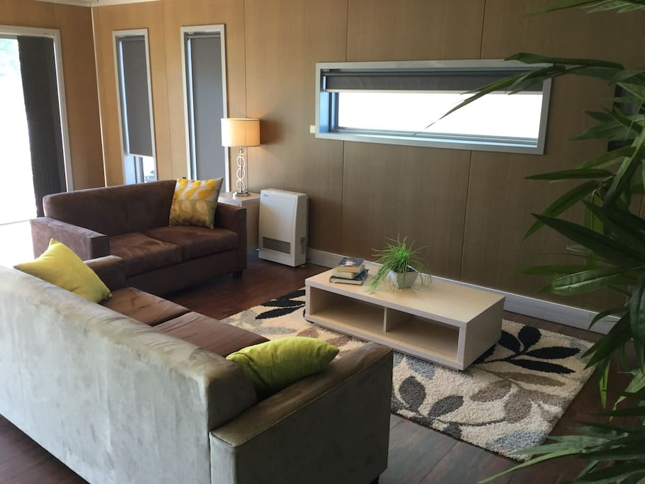 All modern furnishings with comfort and the environment in mind.