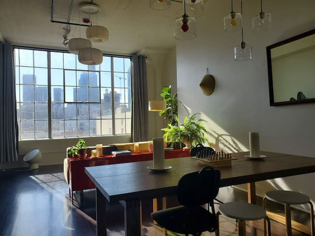 Loft with a view - Downtown LA - Extended stay