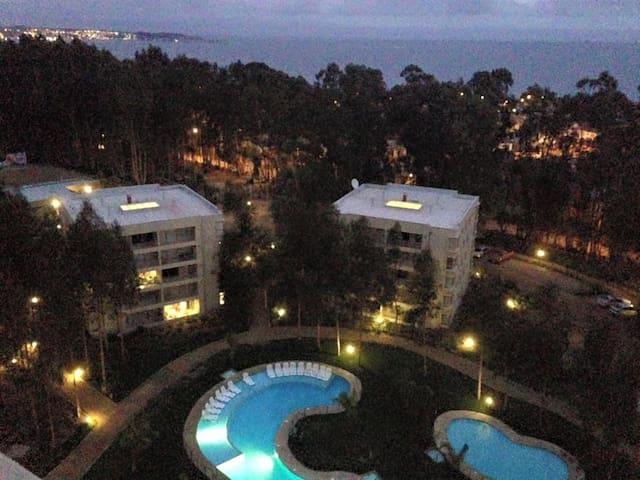 Depto. full equipado en condominio Costa Algarrobo - Algarrobo - Byt