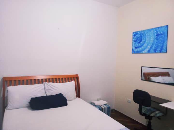 hostel arquiteta: quarto 2  c/ garagem opcional