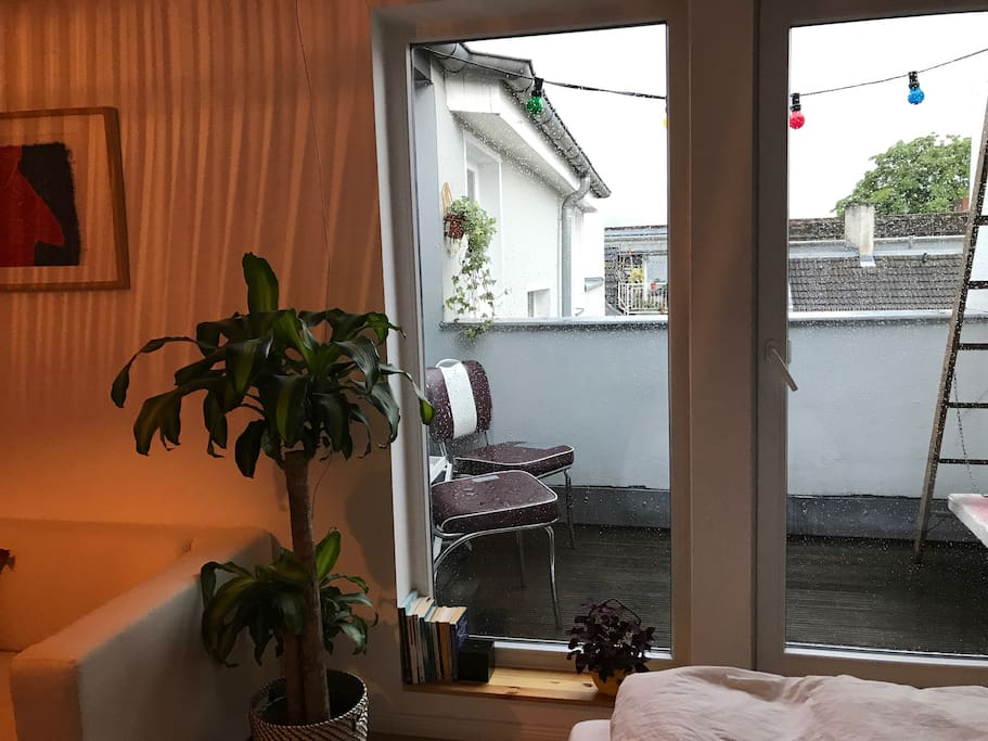 Small balcony in the Bedroom