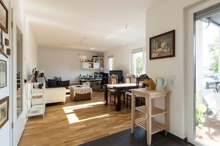 Apartment 63qm mit eigenem Bad und Vollküche,Grill - ベルリン