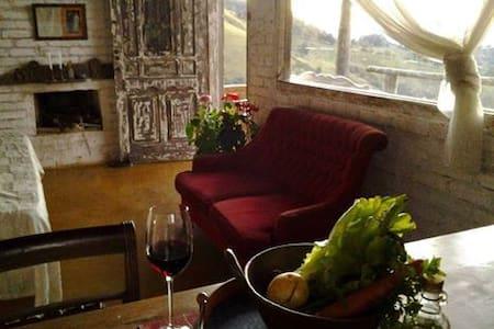Vista Sem Igual - Loft romântico - casa inteira - Córrego do Bom Jesus