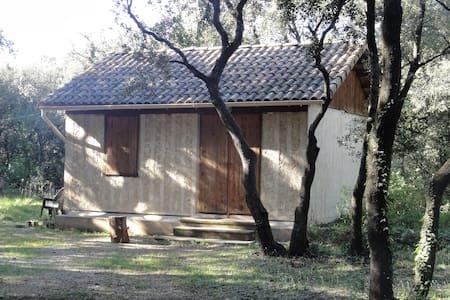 Chalet Dans les bois - Sarrians - 방갈로