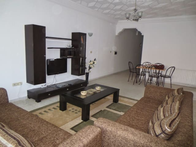 Renovated apartment 112m2-beach 5mn - Sousse - Appartement