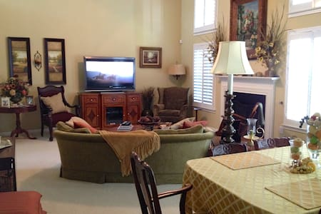 Spacious and Comfortable Master Bedroom - Greer
