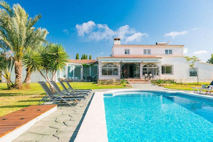 Spacious Oasis Villa with Indoor Pool, Jacuzzi