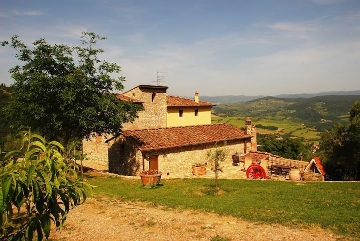Farm holidays Casale Le Pergole - Pontassieve - Wohnung