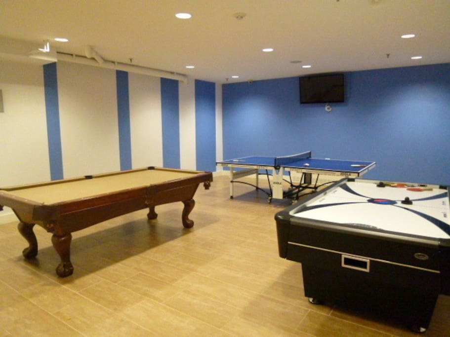 Game Room in building