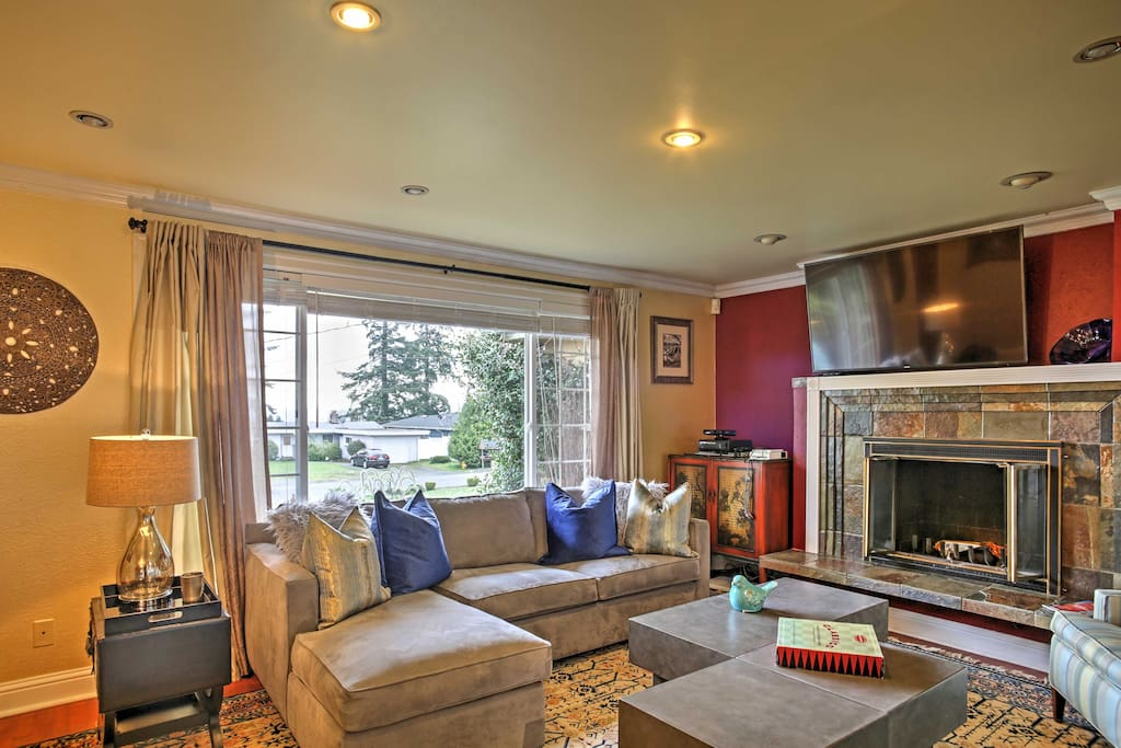 The home boasts 2,300 square feet of comfortable living space.