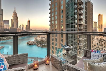 Extraordinary Burj Khalifa view- 2 BR Downtown - Dubai