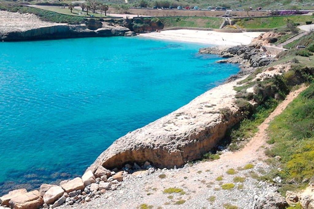 Una delle bellissime spiaggie di Ansedonia, a 20 minuti di macchina da casa.