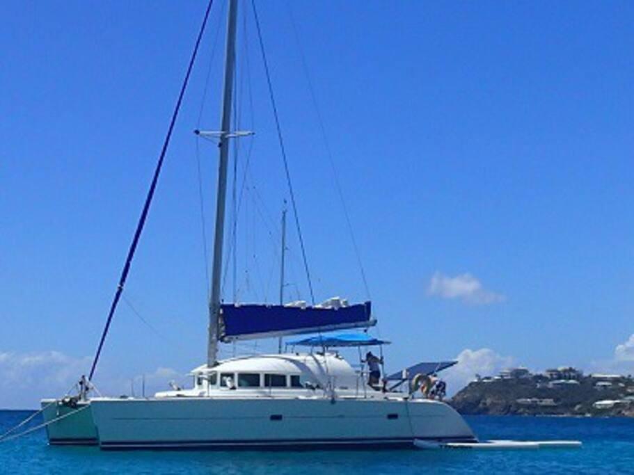 Beagle Knot Sailing Catamaran Crew Boats For Rent In St Thomas Vi U S Virgin Islands