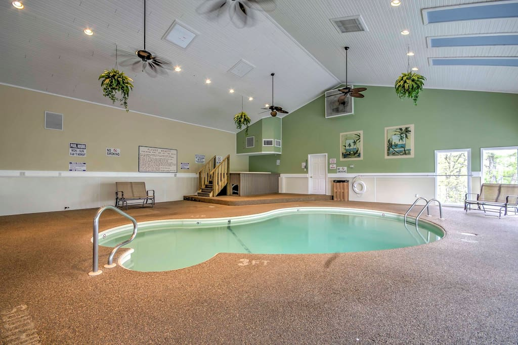 Enjoy access to a heated indoor pool during your stay.